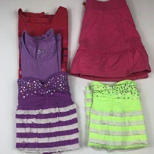 Girls size 10 justice gap summer bundle EUC